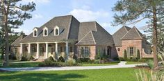 House Plan 4534-00014 - Southern Plan: 3,851 Square Feet, 5 Bedrooms, 4.5 Bathrooms