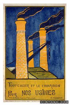 Tout l'Acier et le Charbon pour Nos Usines - Save Steel and Coal for the Factories