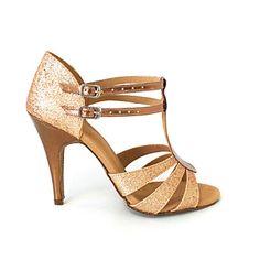 PU de las mujeres personalizadas y espumosos brillo superior de baile Zapatos (más colores) – EUR € 29.99