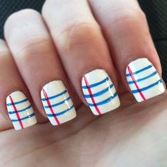 OMG. Love these. Check out more awesome nail art here.