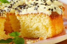 Vajkrémes, citromos piskóta - Recept | Femina Mashed Potato Cakes, Lemon Drizzle Cake, Leftovers Recipes, Food Shows, Food Waste, Vintage Recipes, Oven Baked, Soup And Salad, How To Make Cake