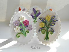 Quilling by Ada: Felicitari flori Quilling Butterfly, Paper Quilling Flowers, Paper Flowers Craft, Flower Crafts, Quilling Letters, Quilling Craft, Quilling Designs, Quilled Creations, Decorated Envelopes