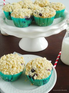 Blahnik Baker: Brown Butter Blueberry Muffins