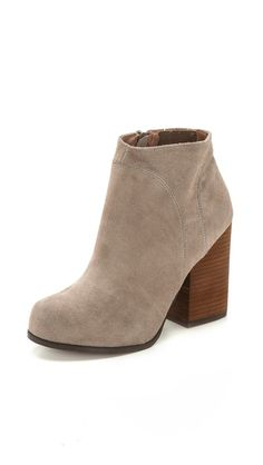 Suede booties - 25% off with code: GOBIG14