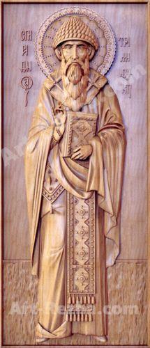 20-Saint-Spyridon-Icon-Orthodox-Wooden-Carved-Medium-Christian-Gift