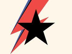 He's a Blackstar David Bowie Tattoo, David Bowie Art, Bowie Labyrinth, David Bowie Tribute, Toys In The Attic, Star Banner, Goblin King, Major Tom, Ziggy Stardust