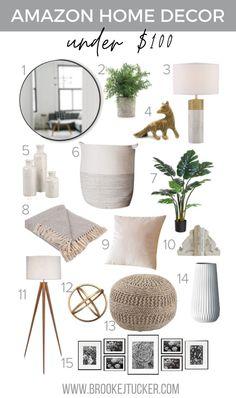 Amazon Home Decor, Affordable Home Decor, Boho Living Room, Bohemian Living, Small Living Rooms, Modern Decor, Modern Boho, Modern Bedroom Decor, Modern Bedrooms