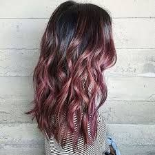 Image result for chocolate mauve hair trend