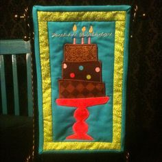 "Mini Birthday Quilt (7"" x 11 1/2"")"