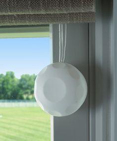 White Cord Safe Cord Shortener - Set of Four