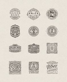Logo Designs by Joe White
