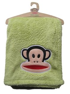 $38.50-$38.50 Baby Paul Frank Plush Fleece Blanket, Green - Paul Frank Eco-Friendly Plush Fleece Blanket - Green100% soft organic cotton eco friendly.Features include: •30 x 40 plush fleece blanket•Julius plush applique•Organic flag label on side•Packaged on Eco-Friendly hanger http://www.amazon.com/dp/B0036WT2QM/?tag=pin2baby-20