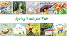 Spring into the season with these fun books!