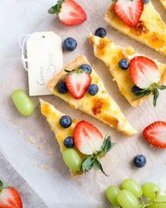 Pączki pieczone - Justyna Dragan Kiwi, Pancakes, Pineapple, Fruit, Oreo, Ethnic Recipes, Food, Brioche, Pine Apple