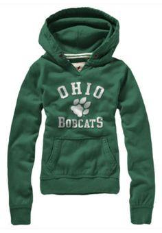 Product: Ohio University Bobcats Women's Hooded Sweatshirt