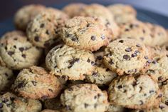 Paleo Zone Diet ~ Chocolate Chip Cookies