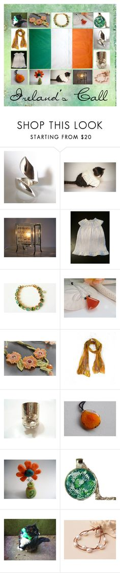 Ireland's Call: Handmade Gift Ideas for Irish by paulinemcewen on Polyvore featuring Olivine, vintage and country