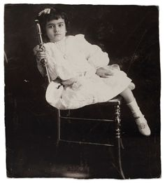 Frida at the age of 5, Anonymous, 1912. ©Frida Kahlo Museum (Courtesy of the Glenbow Museum)