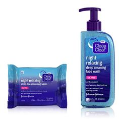 Kick Back, Relax with Clean & Clear Night Relaxing Skincare Skin Care Routine Steps, Flawless Skin, Face Care, Personal Care, Self Care, Facials, Facial Care, Body Care
