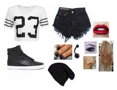 """""""#23"""" by sassy-stiles ❤ liked on Polyvore featuring Supra, TIBI and Grevi"""