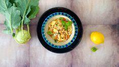 Rezept für Pasta mit Kohlrabi und Möhren - DER SPIEGEL Gordon Ramsay, Yummy Veggie, Pasta, Veggies, Vegan, Ethnic Recipes, England, Food, London