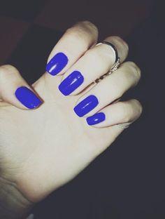 Pretty Painted Fingers + Toes Nail Polish  Serafini Amelia  Electric Blue Hue