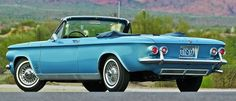 1962 chevrolet corvair spyder.
