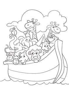 free noahs ark coloring pages noahs ark coloring page - Disney Cars Activities