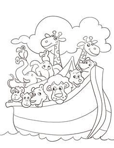 free noahs ark coloring pages noahs ark coloring page