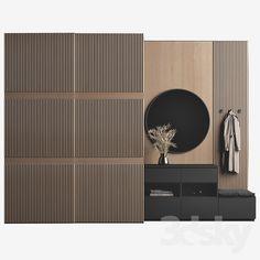 Wardrobe Door Designs, Wardrobe Design Bedroom, Wardrobe Doors, Hall Wardrobe, Hall Furniture, Cabinet Furniture, Apartment Interior, Apartment Design, Home Room Design