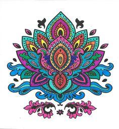 Craft Sensations Mandala cards Lotus Mandala Tattoo, Flower Mandala, Flower Art, Zentangle Patterns, Zentangles, Lotus Plant, Cool Doodles, Mandala Artwork, Cover Up Tattoos