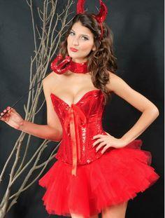 Adulte rouge skinz costume lycra body devil santa fancy dress outfit