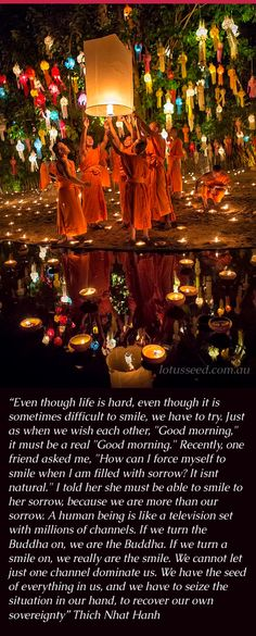 Thich Nhat Hanh quote by lotusseed.com.au