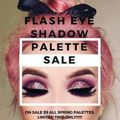JUST FOR OUR BABES!!!! WE �������� YOU GUYS  ALL SPRING EYE SHADOW PALETTES ARE ON SALE FOR $9!! FOR A LIMITED TIME ONLY NO CODE NEEDED/ Full vids of our palettes on the site�� CLICK THE LINK IN OUR BIO TO SHOP IF YOU HAVE NOT JOINED OUR GLAM SQUAD WHAT ARE YOU WAITING FOR?? SIGN UP NOW ON OUR SITE!! - - - - - - - - #beautyblender #beautyblogger#makeup #makeupaddict#makeupartist #makeupoftheday#mua #anastasiabeverlyhills#morphegirl #hudabeauty#wakeupandmakeup #makeupartistsworldwide…