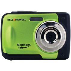 Bell+howell 12.0-megapixel Wp10 Splash Waterproof Digital Camera (green)