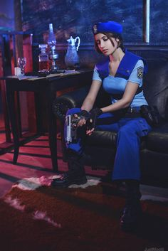 Jill Valentine (Resident Evil), Cosplay by: Narga-Lifestream, Photo by: JustMoolti - Imgur