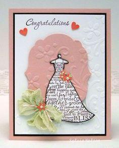 spellbinders calla lily edgeabilities - Google Search Bridal Shower Cards, Bridal Shower Invitations, Invites, Anniversary Cards, Wedding Anniversary, Wedding Cards, Wedding Stuff, Calla Lily, Handmade Wedding