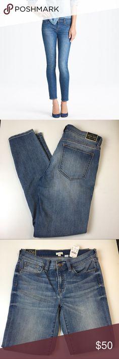 """NWT Skinny stretch ankle jean J. Crew Factory skinny stretch jean. 28"""" waist. 28"""" inseam. J. Crew Factory Jeans Skinny"""