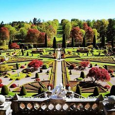 Drummond Castle Gardens Samheughan, Stirling, Scotland Travel, Stunning View, Beautiful, Pictures Of You, Model Trains, Castle Gardens, Trees To Plant