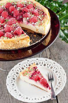 Kerstmis cheesecake