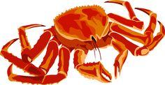 Free to Use & Public Domain Crab Cliptģttu7 Art