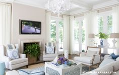 This beautiful home belonging to interior designer Melissa Haynes of MH Design out of Rogers, Arkansas