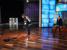 #LAKings' Anze Kopitar Shoots for Breast Cancer Research on The Ellen DeGeneres Show