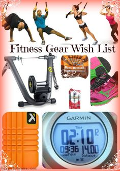 Fitness Gear Wish List - happyfitmama.com