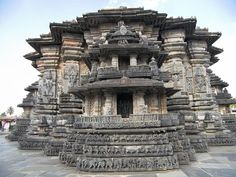 "The Chennakesava Temple was built in Belur, an early capital of the Hoysala Empire. Chennakesava literally means ""handsome Kesava"" and is a form of Hindu God Vishnu. The temple was commissioned 1117 CE. A total of 118 inscriptions have been recovered from the temple complex, covering the period between c. 1117 CE to 18th century, which give details of the artists employed, grants made to the temple and renovations."