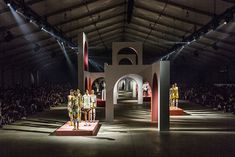 The most beautiful sceneries of Fashion Week kenzo