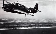 April 8, 1940: The U. S. Navy places a contract with Grumman for two prototypes of the XTBF-1, later named Avenger, a chunky mid-wing monoplane that would become the U. S. Navy's standard carrier torpedo bomber of World War II.