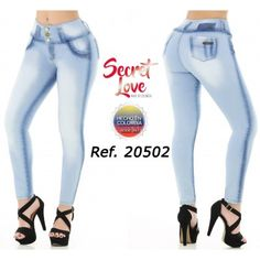 20502PAP-B BUTT LIFTING JEANS