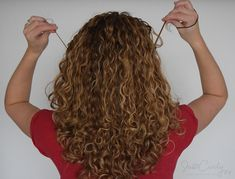 how to pull back curly hair without destroying its curl pattern