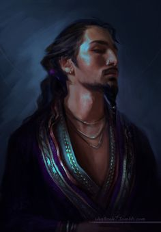 It's been ages since I painted anything Critical Role related… So here's Gilmore! :)
